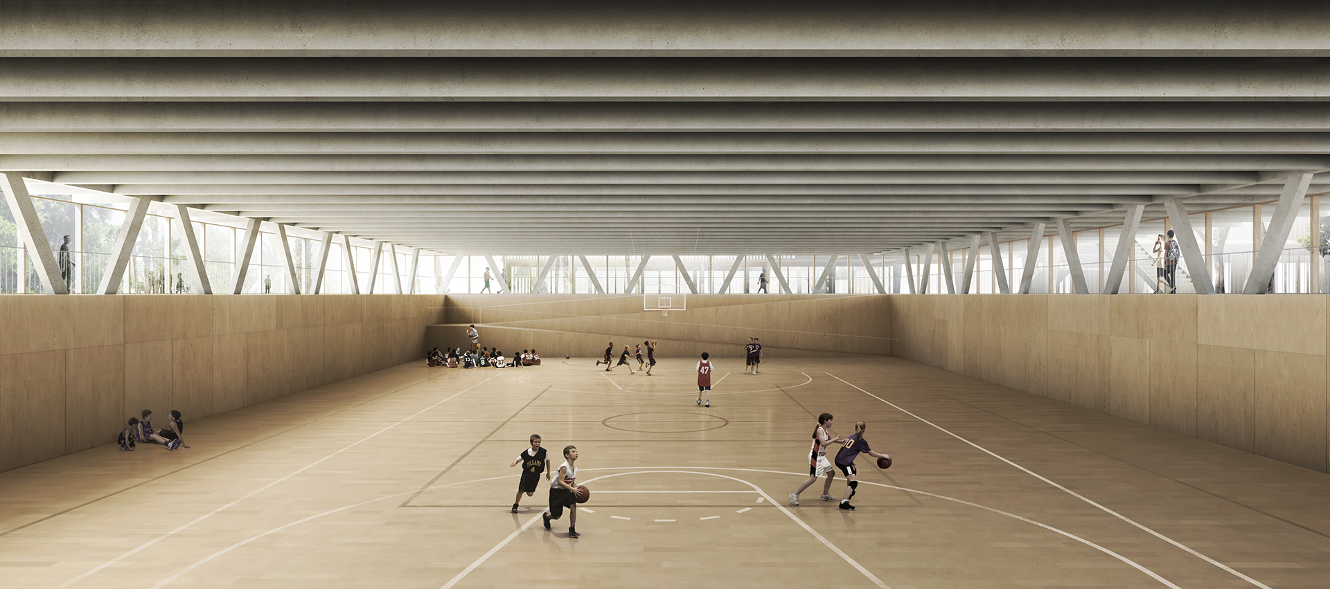 Visualizacion de Arquitectura Archviz Architectural Visualization Render